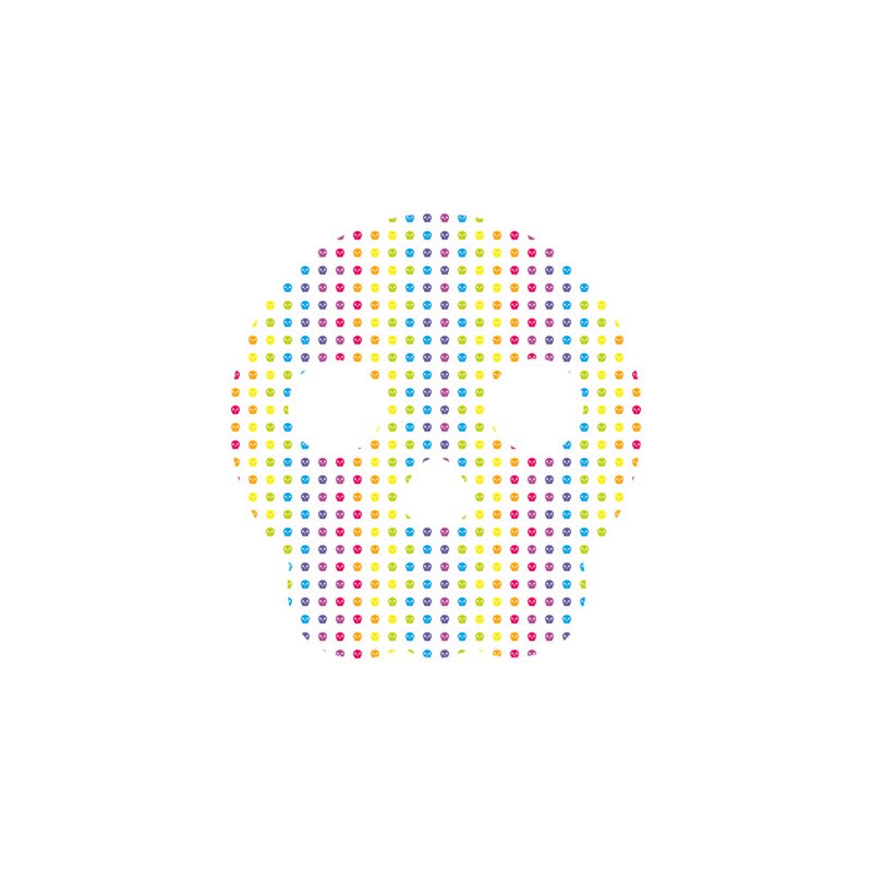 not so popular portfolio - color fashion skull