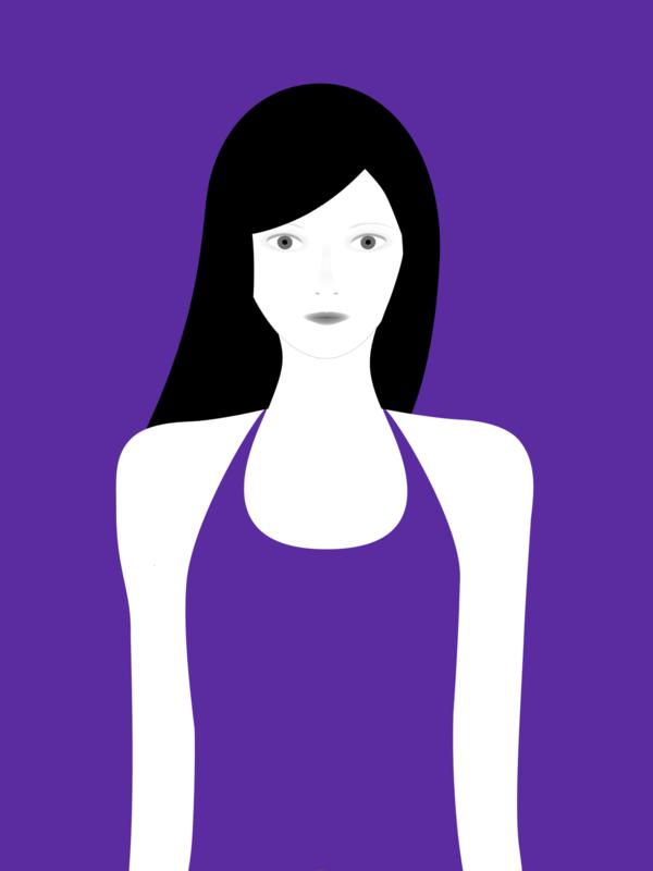 not so popular portfolio - violet