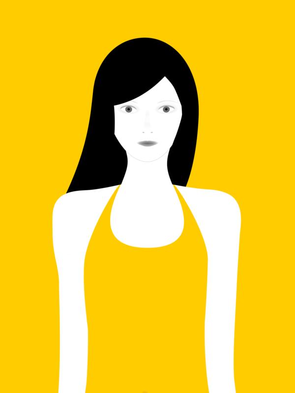 not so popular portfolio - yellow