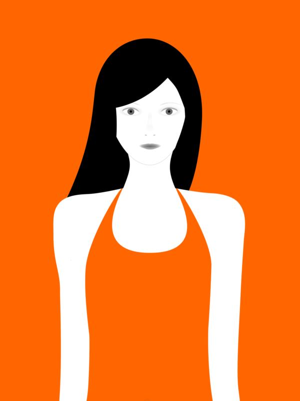 not so popular portfolio - orange