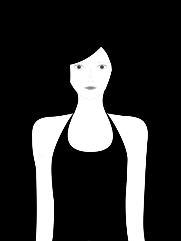 not so popular portfolio - black (no color)