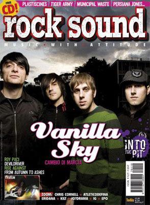 PaoloCipriani Imagestalk - Cover Rocksound Vanilla Sky