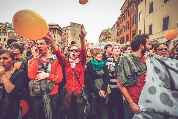 PaoloCipriani Imagestalk - antigelmini protests