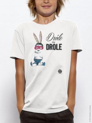 Sandra Le Garrec - Graphic Designer - T-Shirt pour Enfant Drôle de Drôle