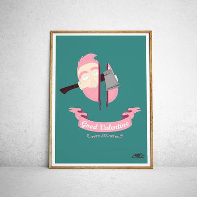 Sandra Le Garrec - Graphic Designer - Affiche Good Valentine