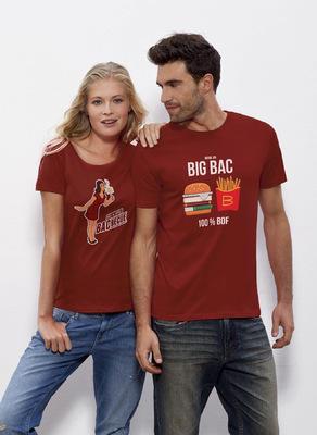 Sandra Le Garrec - Graphic Designer - T-Shirts Big Bac et BacBecue