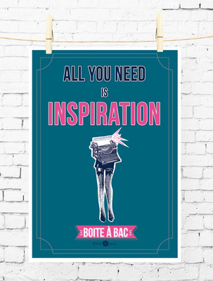Sandra Le Garrec - Graphic Designer - Affiche Pour réussir votre Bac, ... All you need is inspiration