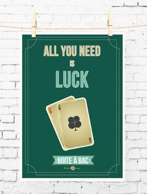 Sandra Le Garrec - Graphic Designer - Affiche Pour réussir votre Bac, ... All you need is luck
