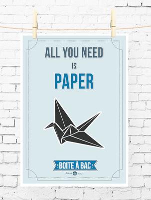 Sandra Le Garrec - Graphic Designer - Affiche Pour réussir votre Bac, ... All you need is paper