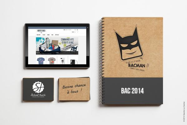Sandra Le Garrec - Graphic Designer - E-shop Boîte à Bac et carnet Bac Man