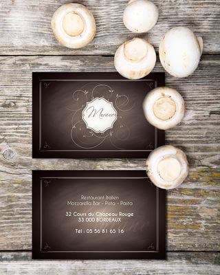 Sandra Le Garrec - Graphic Designer - Carte de visite du Murano