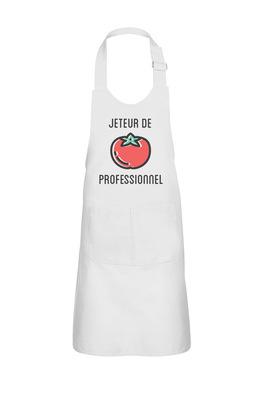 Sandra Le Garrec - Graphic Designer - Tablier Jeteur de tomates professionnel