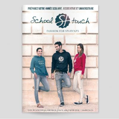 Sandra Le Garrec - Graphic Designer - Catalogue School Touch