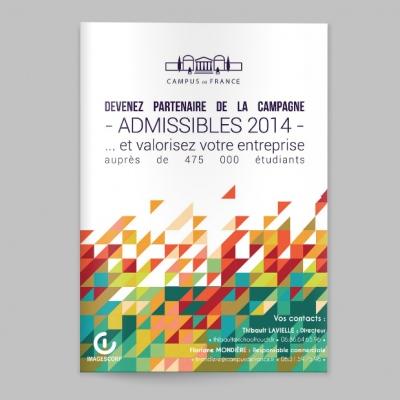 Sandra Le Garrec - Graphic Designer - Campagne des Admissibles 2014