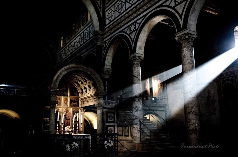 FrancoLuciiPhoto FLP - San Miniato church, Florence.