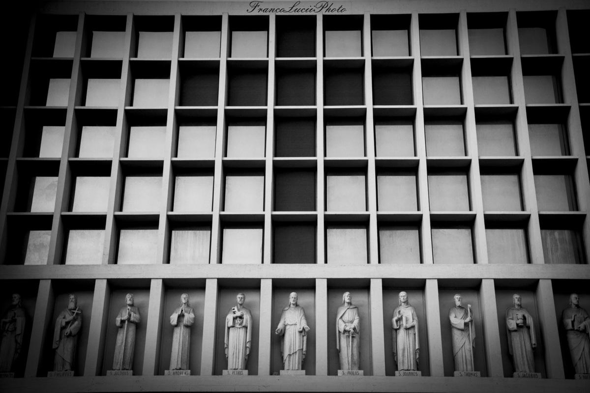 FrancoLuciiPhoto FLP - Florence, Exterior facade churchs Divina Provvidenza