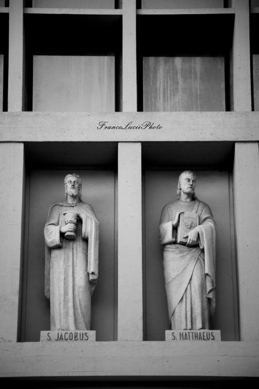 FrancoLuciiPhoto FLP - Florence,Churchs Divina Provvidenza, detail.