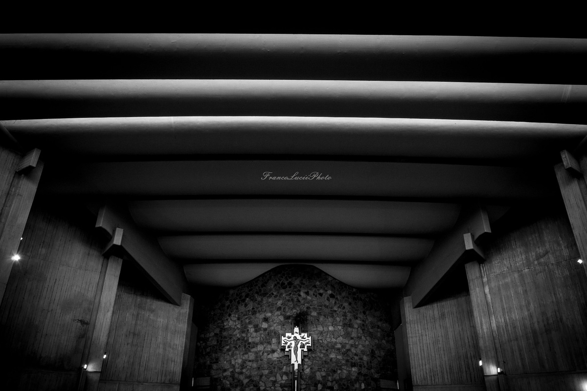 FrancoLuciiPhoto FLP - Pontassieve,Internal view of altar church of San Gualberto.