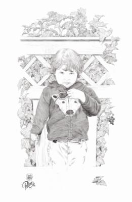 iiorlov - Детский Portrait A la иллюстрация к книге.