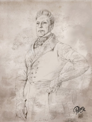 iiorlov - A la салонный портрет 19 века.