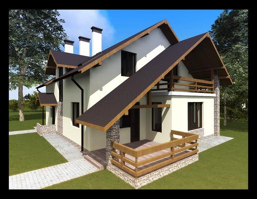 Архитектура и дизайн от Петра Горчицы - Проектирование частного дома. г.Санкт-Петербург