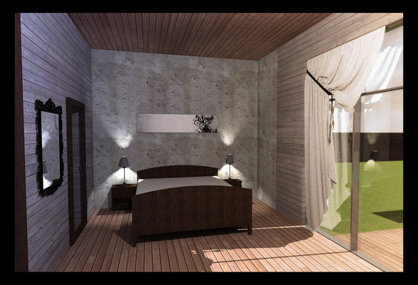 Архитектура и дизайн от Петра Горчицы - Спальня