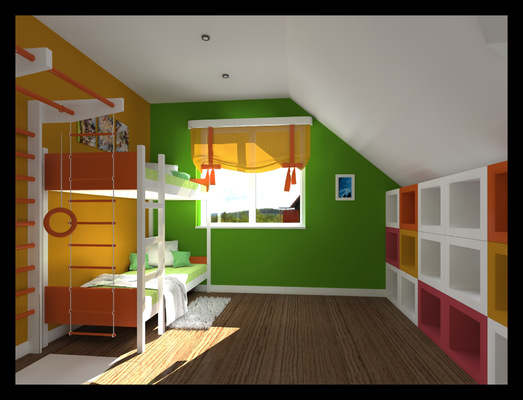 Архитектура и дизайн от Петра Горчицы - Разработка дизайна детской. г.Владивосток