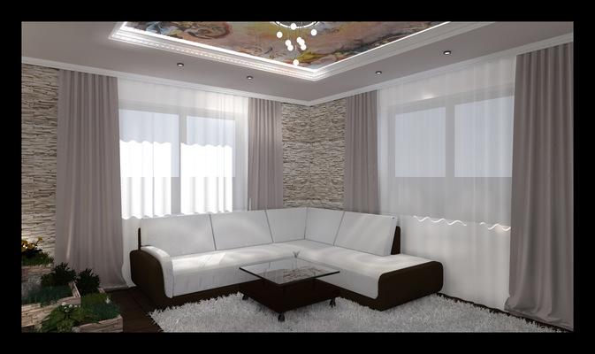 Архитектура и дизайн от Петра Горчицы - Разработка дизайна гостиной. г.Владивосток