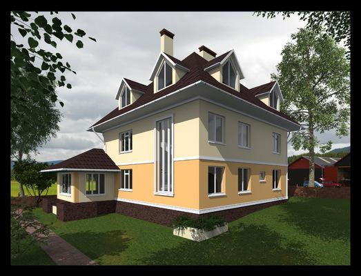 Архитектура и дизайн от Петра Горчицы - Проектирование коттеджа, г. Петропавловск-Камчатский.