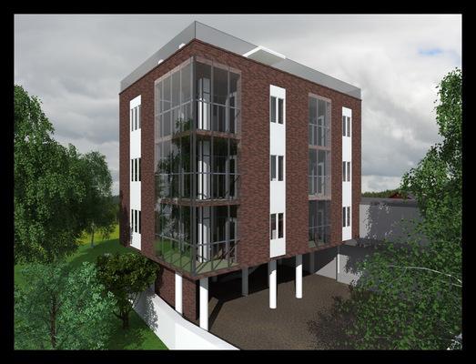 Архитектура и дизайн от Петра Горчицы - Проектирование 6-ти квартирного дома. г. Ялта