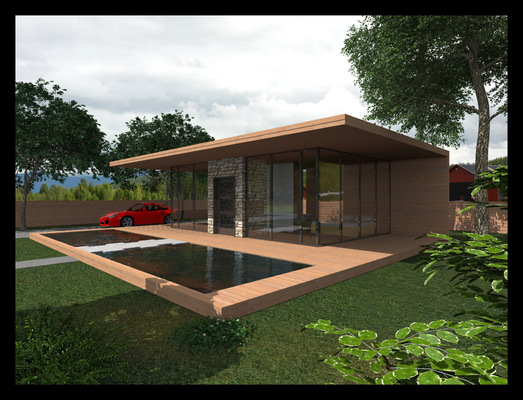 Архитектура и дизайн от Петра Горчицы - Проектирование виллы.