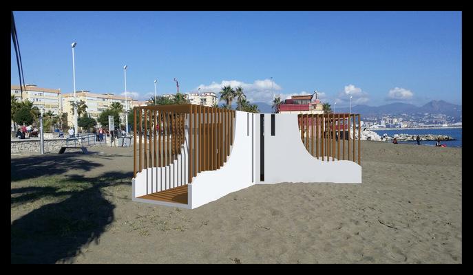 Архитектура и дизайн от Петра Горчицы - Проектирование роздевалки г.Малага Испания