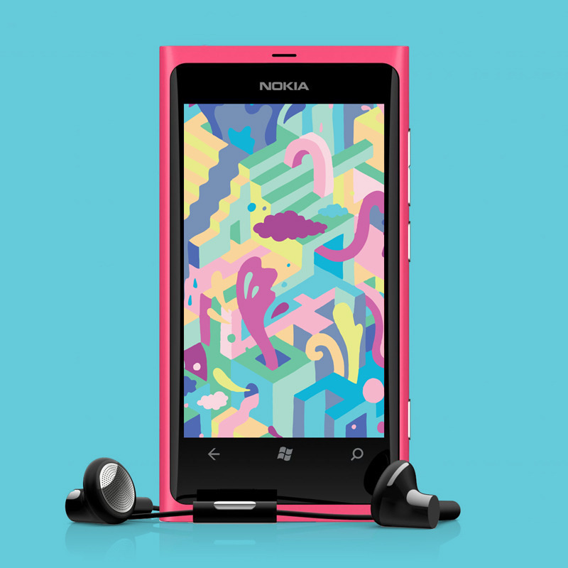 Kate Moross - Nokia Wallpaper 2009