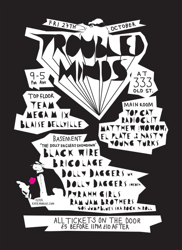 Kate Moross - Troubled Minds Series 2006-7