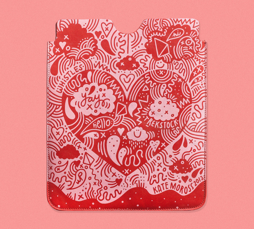 Kate Moross - Moross x Whistles x Trekstock iPad Case 2013