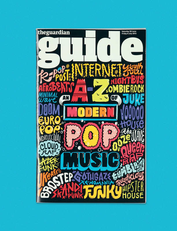 Kate Moross - Guardian Guide 2013