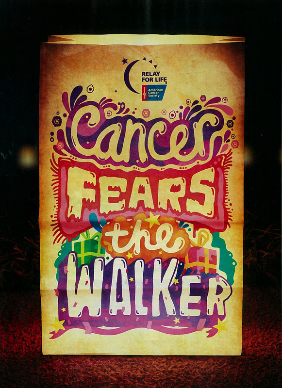 Kate Moross - Relay for Life Advert 2010