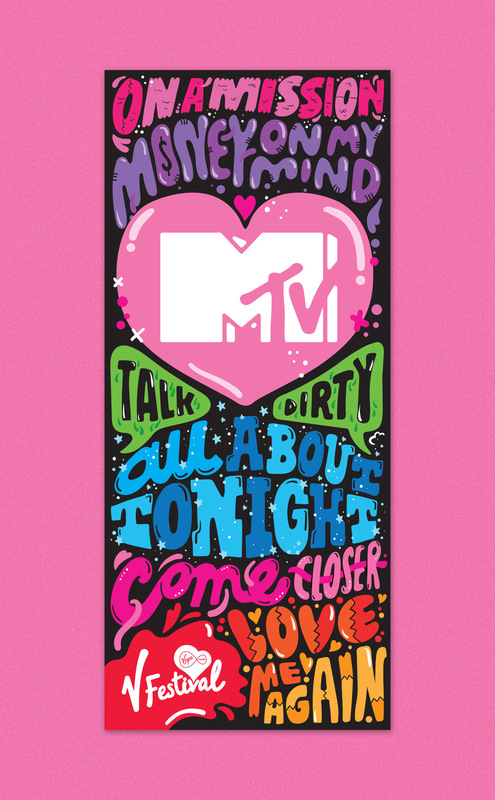 Kate Moross - MTV V-Festival Scrims 2014