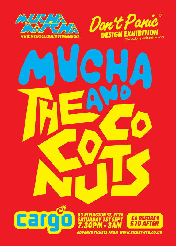 Kate Moross - Mucha & The Coconuts 2007