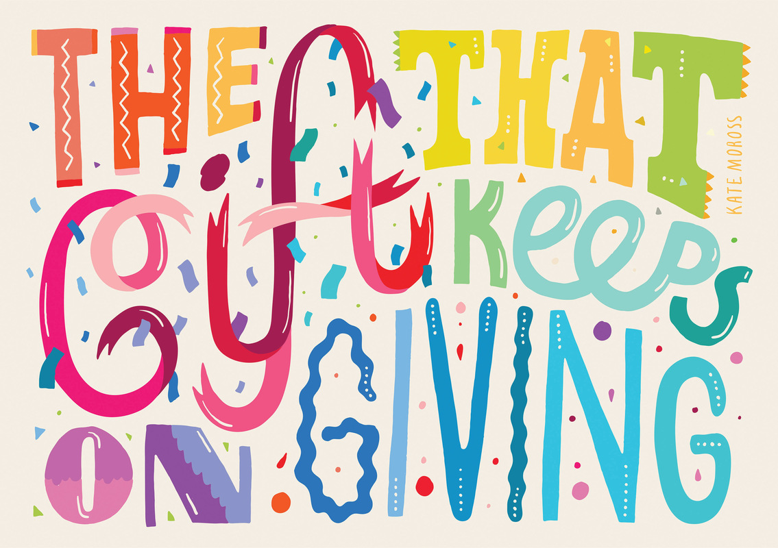 Kate Moross - The Gift that Keeps on Giving 2012