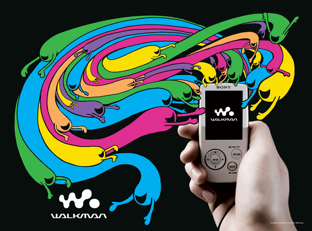 Kate Moross - Sony Walkman Advertorial 2007