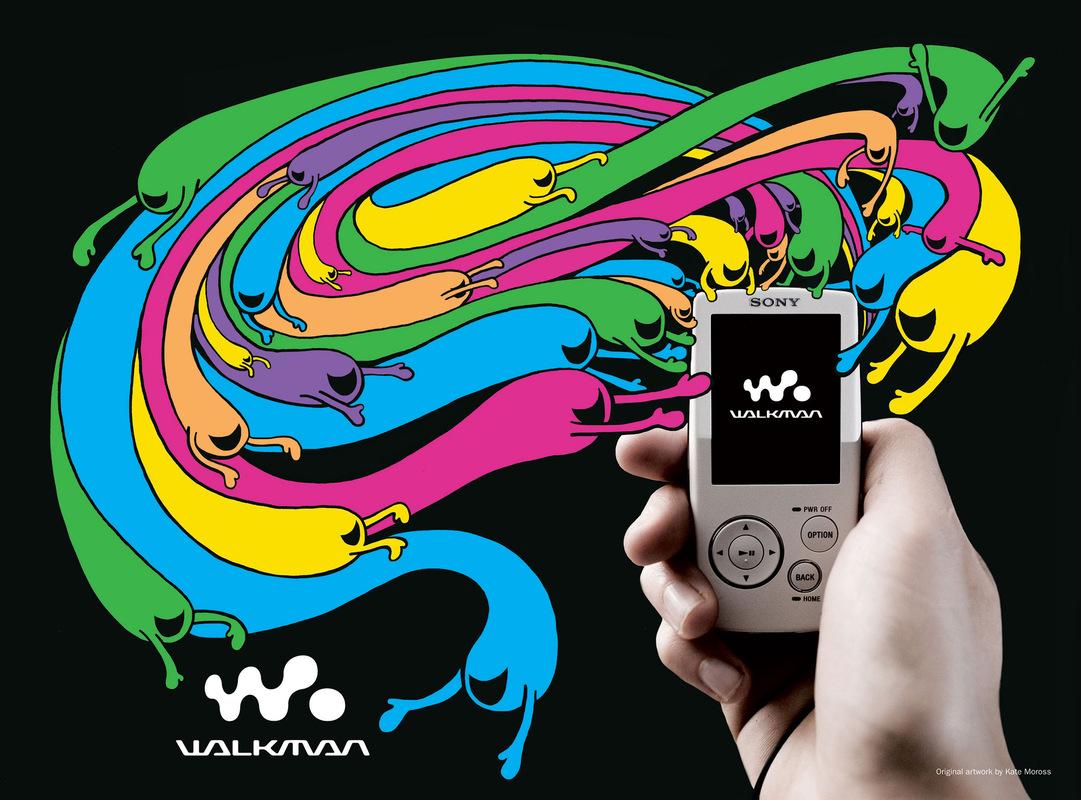 Kate Moross - Sony Walkman Advertorial 2007