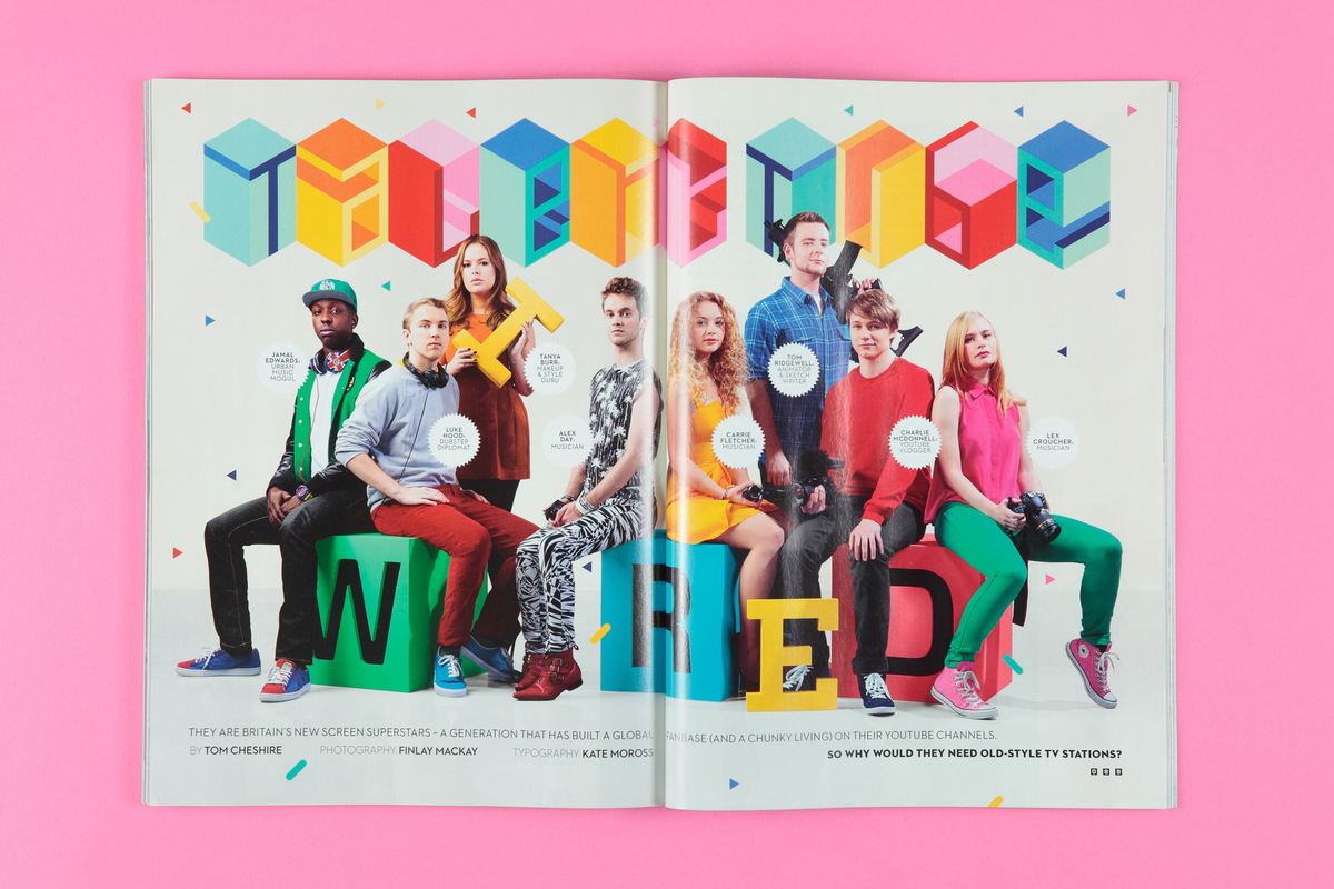 Kate Moross - Wired Editorial 2013