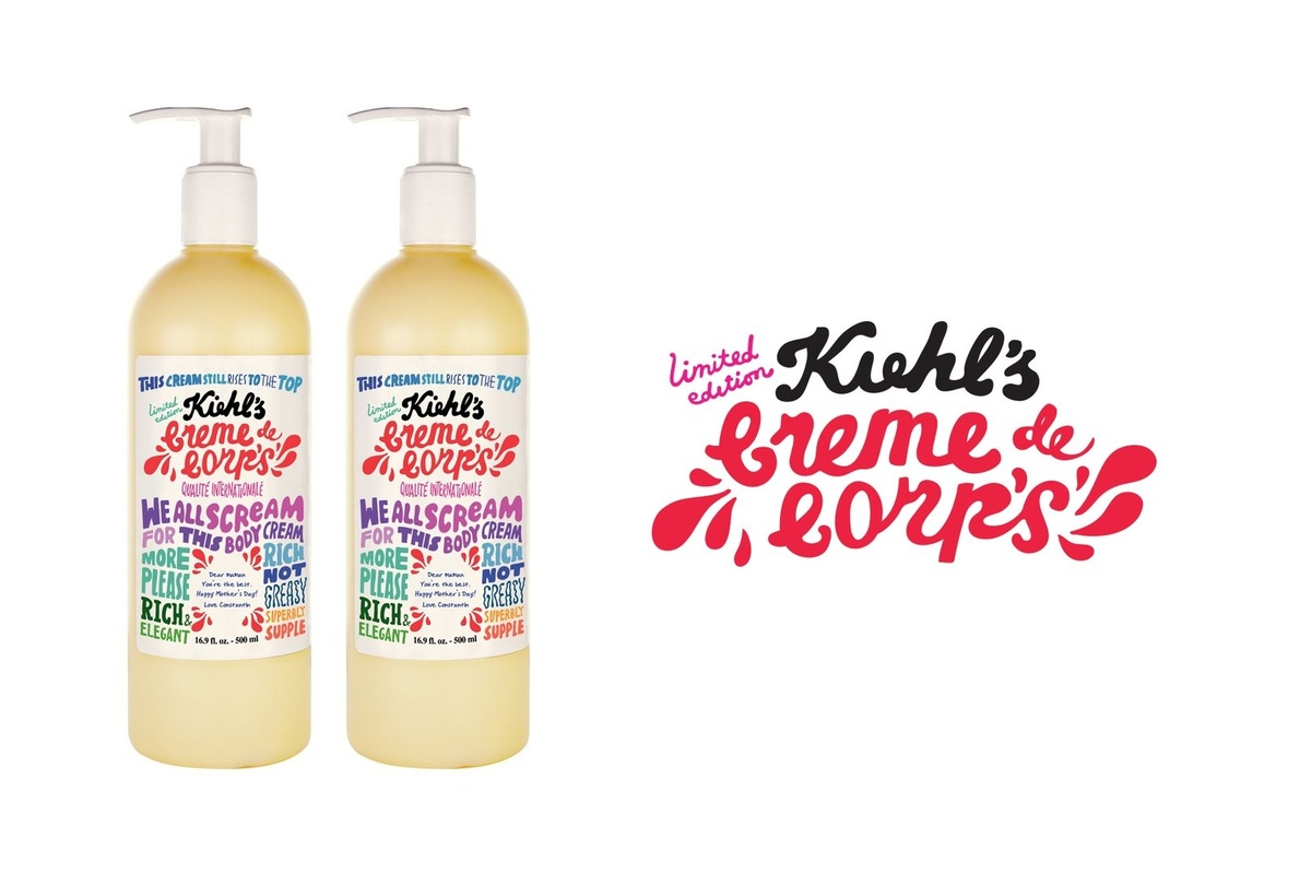 Kate Moross - Kate Moross x Kiehls Mothers Day Bottles 2010