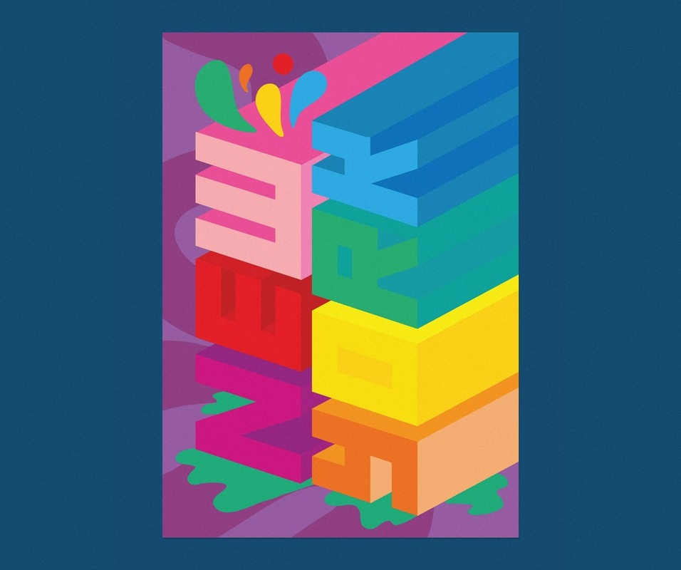 Kate Moross - New York Poster 2010