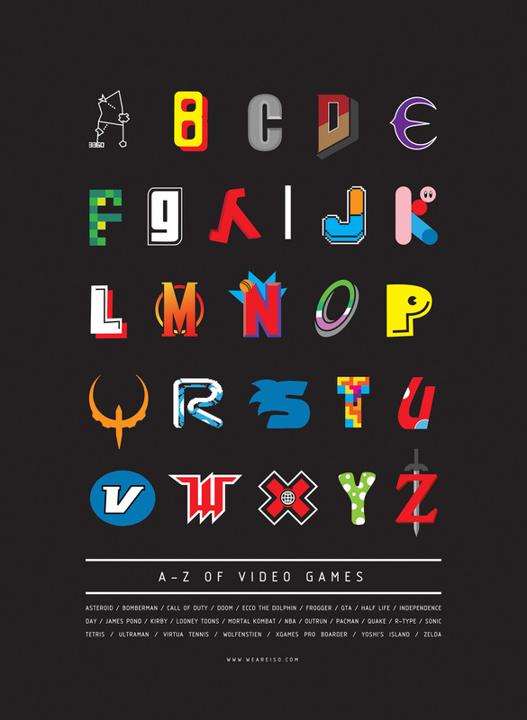 Kate Moross - A-Z of Video Games 2012