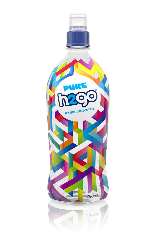 Kate Moross - h2go Bottle Design New Zealand 2013