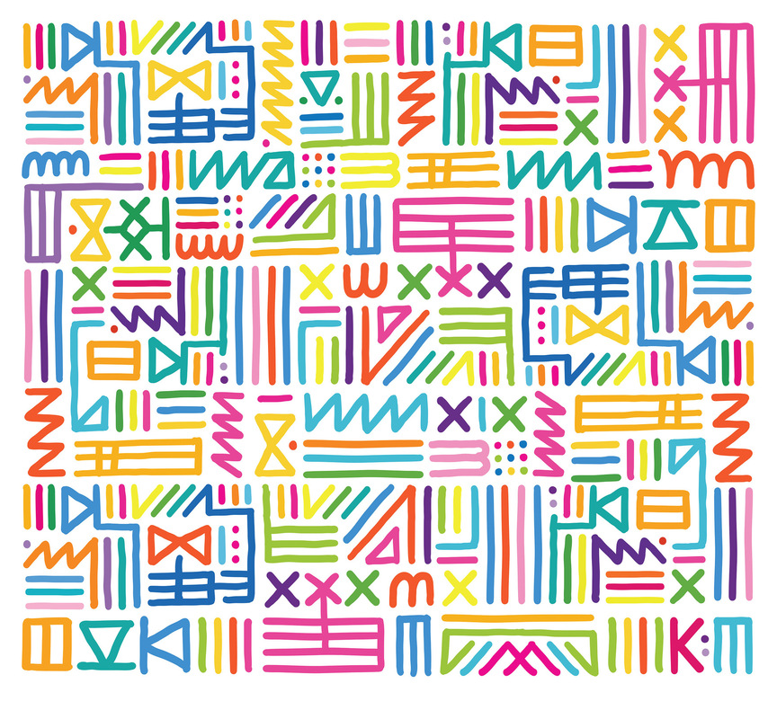 Kate Moross - Multicoloured Tribal 2009