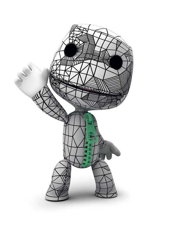 Kate Moross - Moross x Sackboy for Little Big Planet SONY