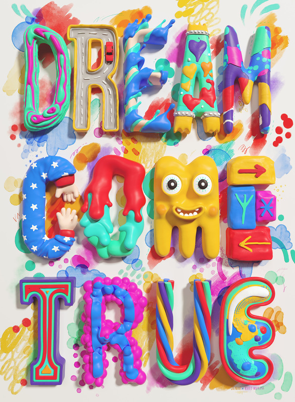 Kate Moross - Dream Come True in collaboration with Jenue 2016